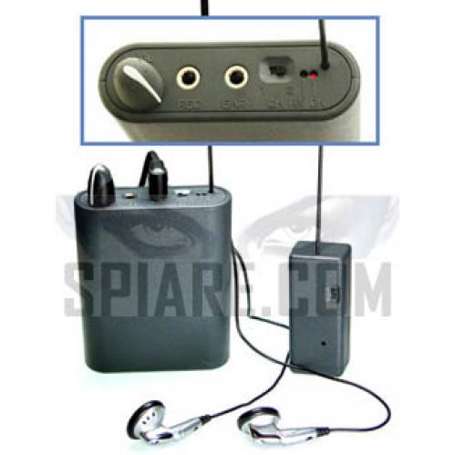 Microspie ambientali per ascolto diretto con ricevitore dedicato