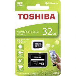 Scheda microSDHC Toshiba
