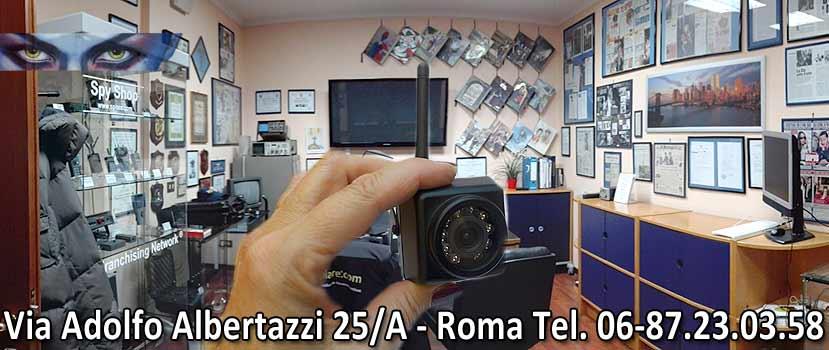 Microspie a Roma - Dove siamo